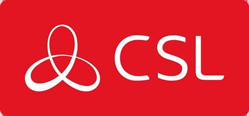 CSL logo red