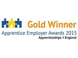 Apprentice employer awards 2015 winner