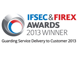 IFSEC & Firex Awards 2013 winner