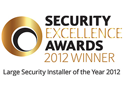 Security and Fire excellence awards winner 2012
