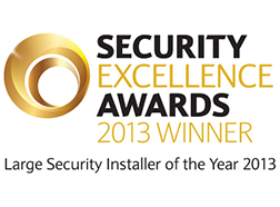 Security and Fire excellence awards winner 2013