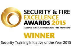 Security and Fire excellence awards winner 2015