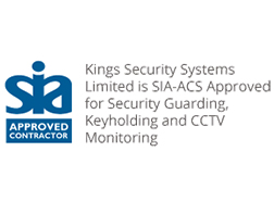 Kings is an SIA approved contractor for Security Guarding, Keyholding and CCTV Monitoring