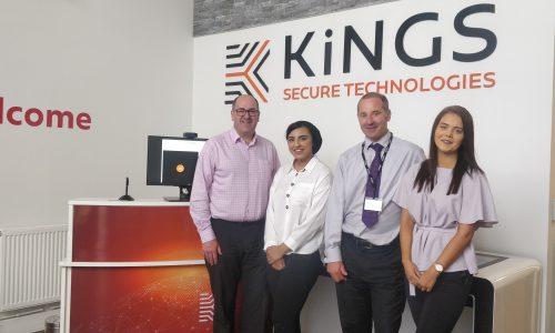 Kings security graduates