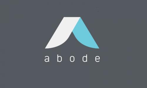 abode logo in grey